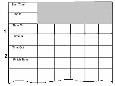 route card template