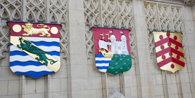 Crests in Wills Memorial Building