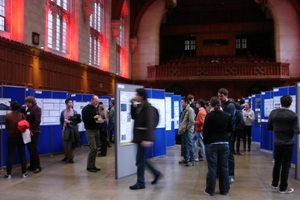 Natural Systems and Processes Poster Session. Image credit Amanda Woodman-Hardy
