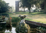 The gardens of Goldney Hall