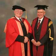 Image of Councillor Bill Martin and Mr Jim Foulds