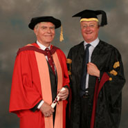 Image of Mr Stuart Goldsmith and Professor Eric Thomas