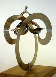 The 'Manifold' sculpture