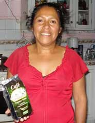 Coffee producer Marta Danelia Gonzáles Espino