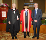An image from left to right: Mr Chris Harries, Dr Surin Pitsuwan, Professor Eric Thomas