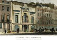 The Egyptian Hall, Piccadilly, 1828