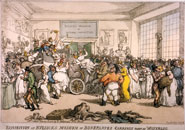 The exhibition of Bonaparte's carriage