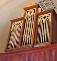 The new pipe organ