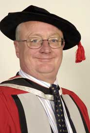 Professor Eric Thomas at the degree ceremony