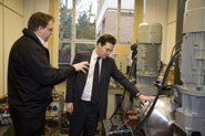 George Osborne visiting the Faculty of Engineering