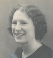 Lady Isobel Wood (Molly) as a student in the 1920s