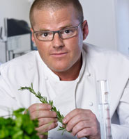 Heston Blumenthal will be discussing his love of food