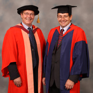 From left to right: Dr Andrew Garrad and Professor Alan Champneys