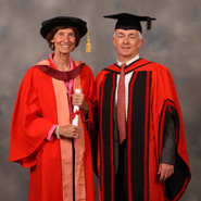 Dr Alison Taunton-Rigby and Professor Tim Gallagher