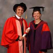 Dr Philip Ball and Professor Kathy Sykes