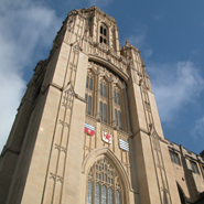 The University's Wills Memorial Building