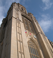 The University of Bristol's Wills Memorial Building