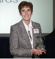 Susan Hooper, dentist teacher of the year 2009