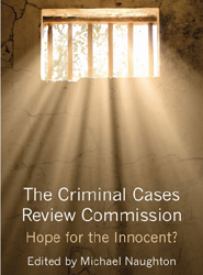 Cover image:'The Criminal Cases Review Commission: Hope for the Innocent?'