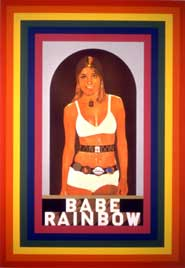 Peter Blake's 'R' for Rainbow (1991) Screen print
