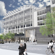 Architect's visualisation of the refurbished building