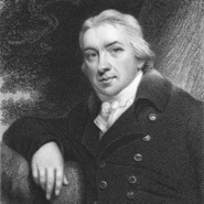 A portrait of Edward Jenner