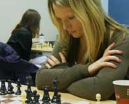 Sarah Hegarty at the World Chess Olympiad