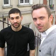 Maxime Cervulle and Nick Rees-Roberts, authors of Homo Exoticus