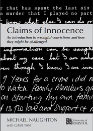 Front cover of Claims of Innocence