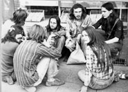 Moscow hippies, 1980