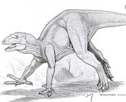 An artist's impression of the Bristol Dinosaur