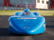 The Bluebird electric powered car