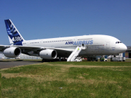 Dr Etienne Coetzee's thesis looked at the manoevrability of the Airbus A380 on the ground