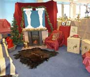 Recreation of a Victorian drawing room - the Careers Office winning entry