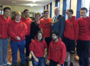 Lord Mayor of Bristol Geoff Gollop joins the Bristol University Lifesaving Club