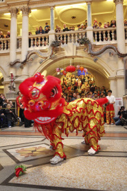 The University of Bristol Chinese Lion Dance Troupe
