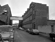 The Wills factory on Upton Road in 1983