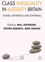 Front cover of Class Inequality in Austerity Britain