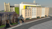 How the new Life Sciences building will look from St Michael's Hill