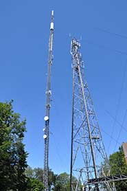 Greenhouse gases will be measured from a number of telecommunications towers including the Tacolneston Tower, Norfolk
