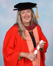 Professor Mary Beard receives an honorary degree from the University of Bristol
