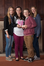Four of the Year 8 winners