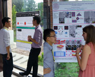 BCFN students discuss their work at Tsinghua University