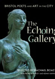 The cover of The Echoing Gallery features 'Kathleen', a sculpture in Bristol Museum & Art Gallery