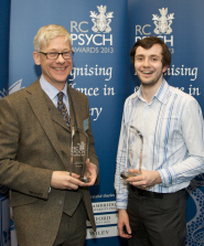 Dr Guy Undrill and Nicholas Deakin with their awards