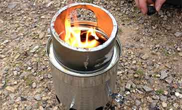 The Candlenut gasification stove