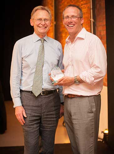 Richard Ayre, IoD South West chairman and Nick Sturge