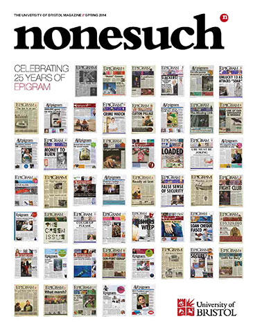 Cover of Nonesuch issue 8