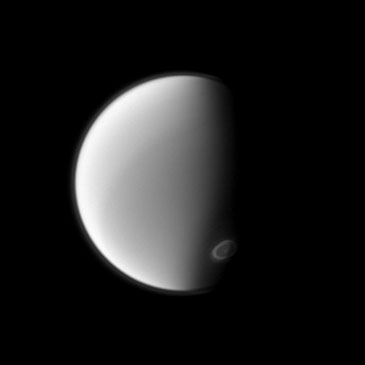 Image of Titan courtesy of NASA