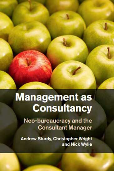 Management as Consultancy book cover